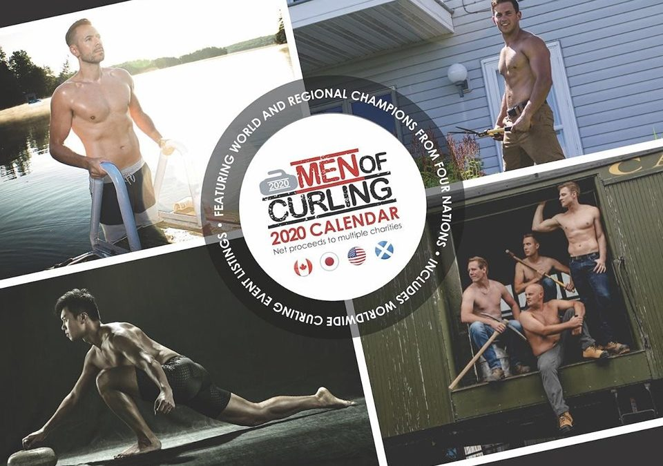 "Tyler Tardi chooses CCFSupport as benefactor for ""Men of Curling Calendar"" fundraiser"