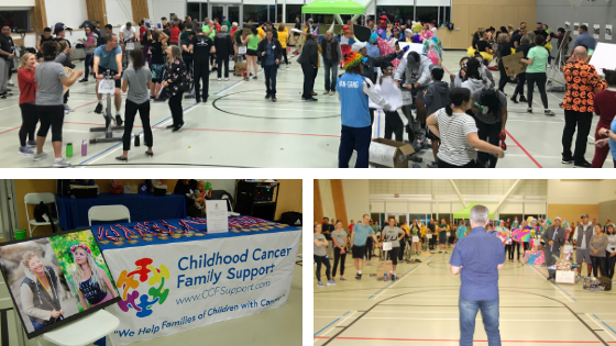8th Annual Spin for Childhood Cancer raises over $38,000